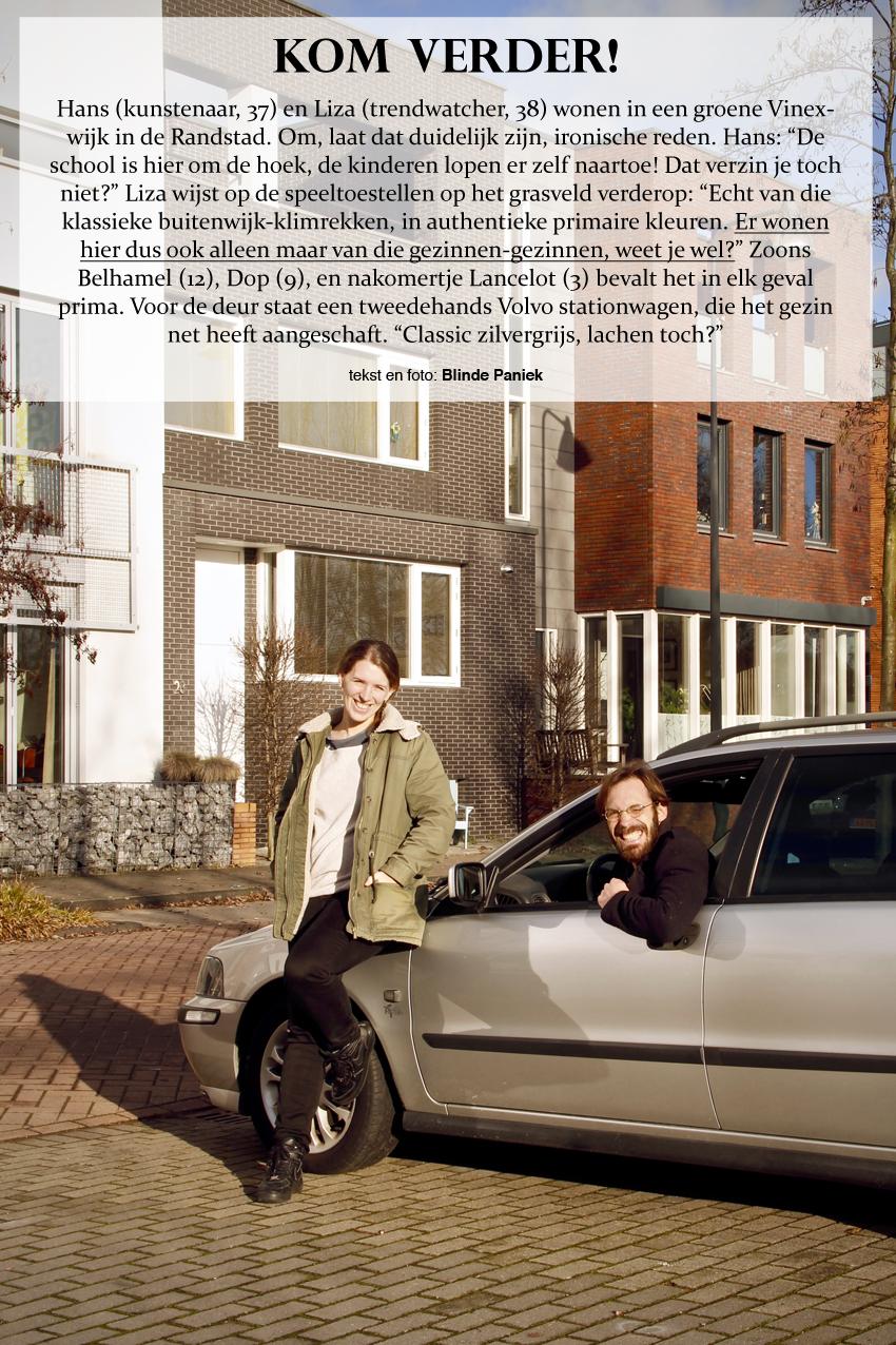 Kom Verder! Hans en Liza wonen ironisch in een vinexwijk