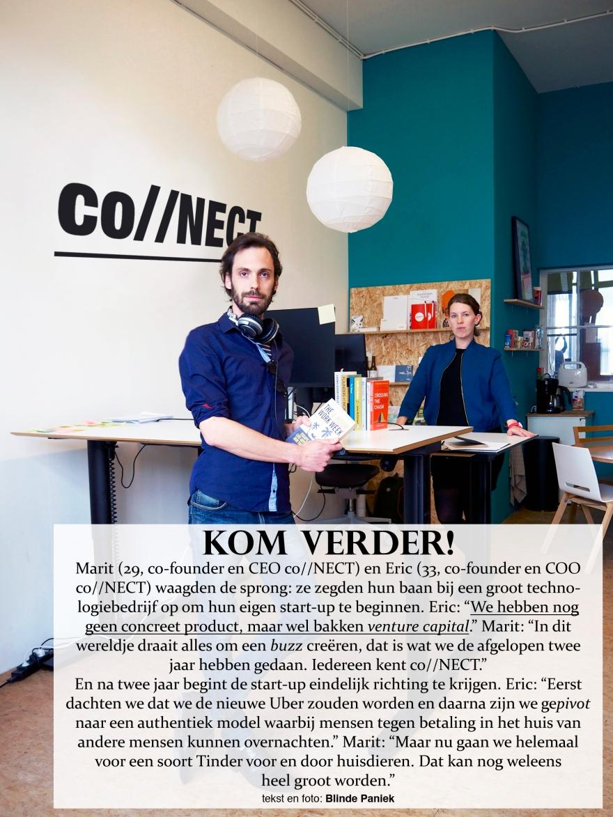 Kom Verder! Marit en Eric Start-up co//NECT venture capital tinder voor en door huisdieren
