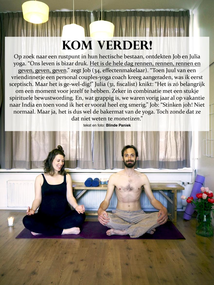 Kom Verder! Job en Julia Yoga Monetizen